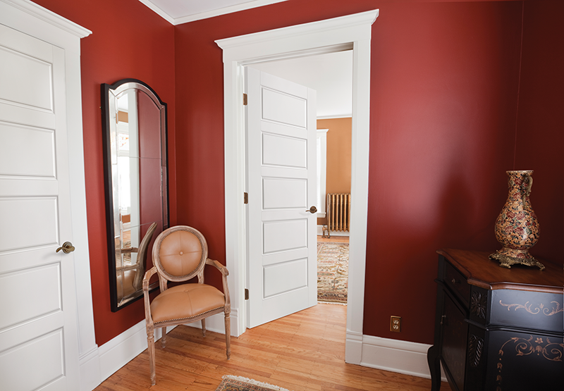 Image of: 5 Panel Interior Door