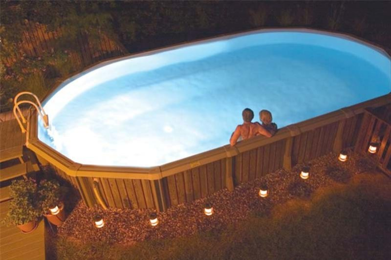 Above Ground Lights Swimming Pool