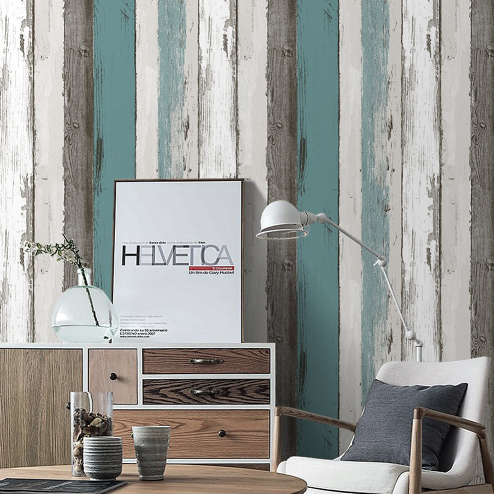 Image of: Adhesive Wood Paneling Vinyls