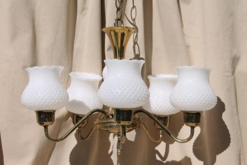 Antique Chandelier Glass Shades Design