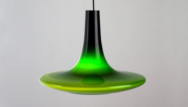 Image of: Art Glass Pendant Light Replacement Shades