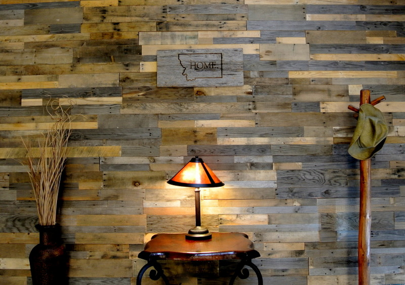 Image of: Barn Wood Paneling Decor