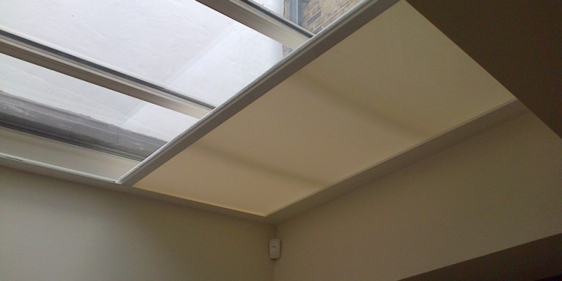 Picture of: Battery Motorized Skylight Shades