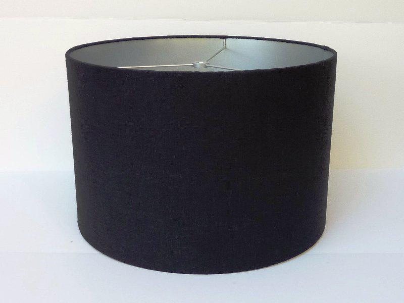 Black Drum Lamp Shade