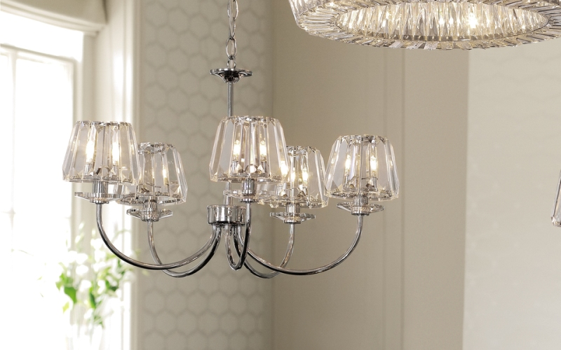 Chandelier Clear Glass Shades