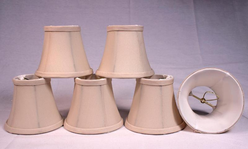 Image of: Chandelier Lamp Shades Clip On