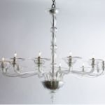 Chandelier Seeded Glass Shades
