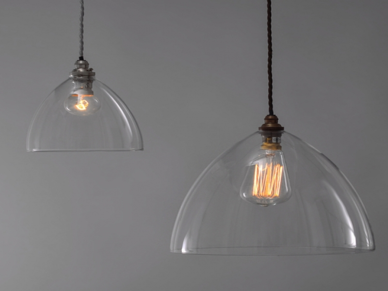 Clear Glass Pendant Light Replacement Shades Design