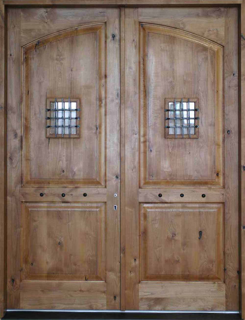 Crested 2 Panel Interior Doors
