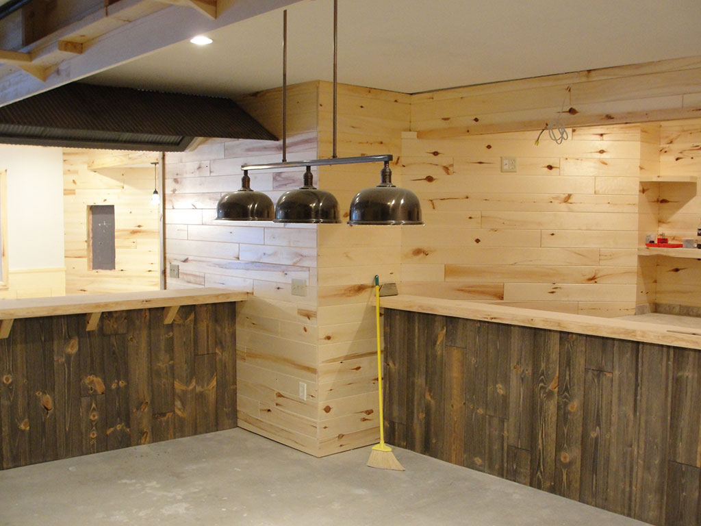 Image of: Custom Barn Wood Paneling