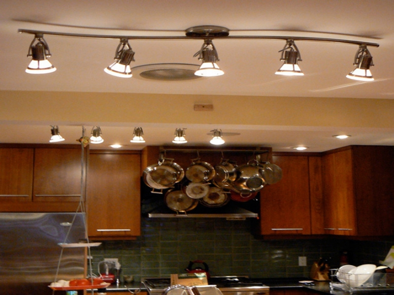 Image of: Decorative Interior Wall Track Lighting Dimmable