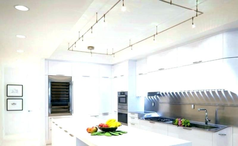 Image of: Decorative Track Lighting For Low Ceiling