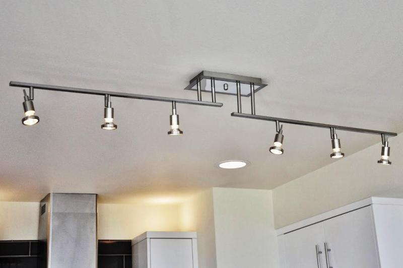 Image of: Decorative Track Lighting White Silver