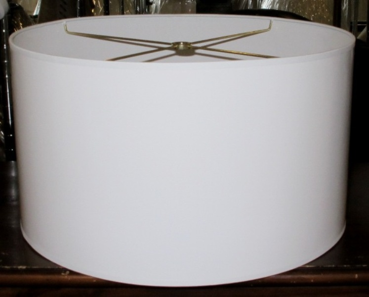 Image of: Nice Drum Lamp Shade