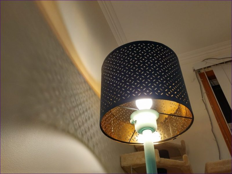 Image of: Drum Lamp Shades Ikea