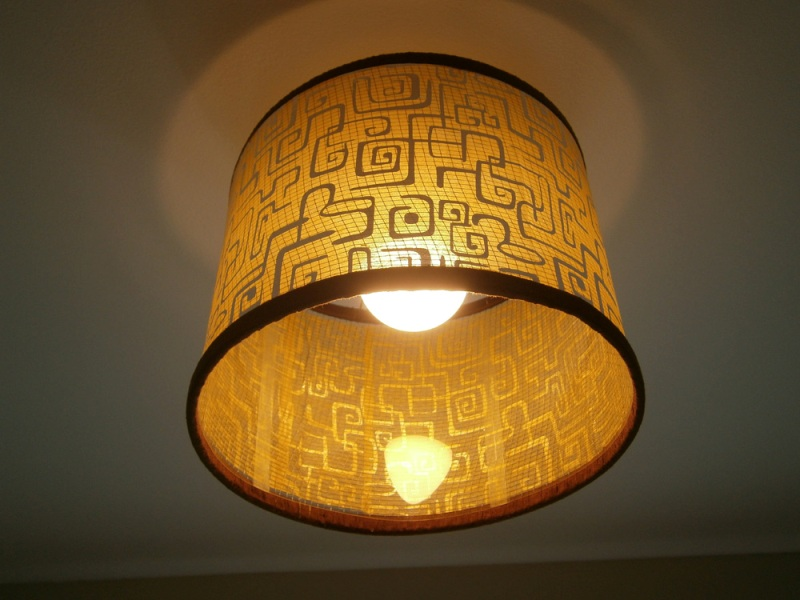 Image of: Drum Shaped Lamp Shades
