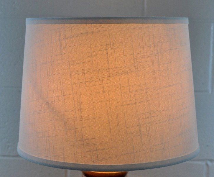 Image of: Drum Style Lamp Shades
