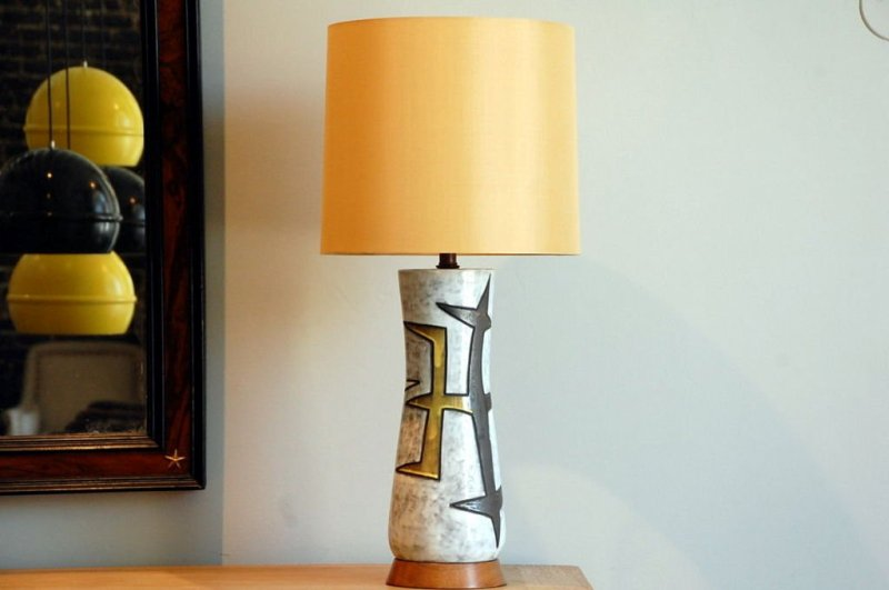 Image of: Drum Table Lamp Shades