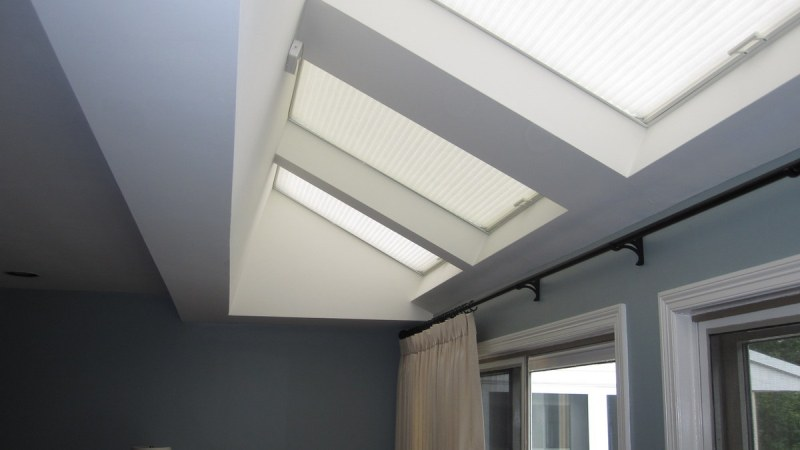 Picture of: Electric Skylight Shades Motorized Blinds