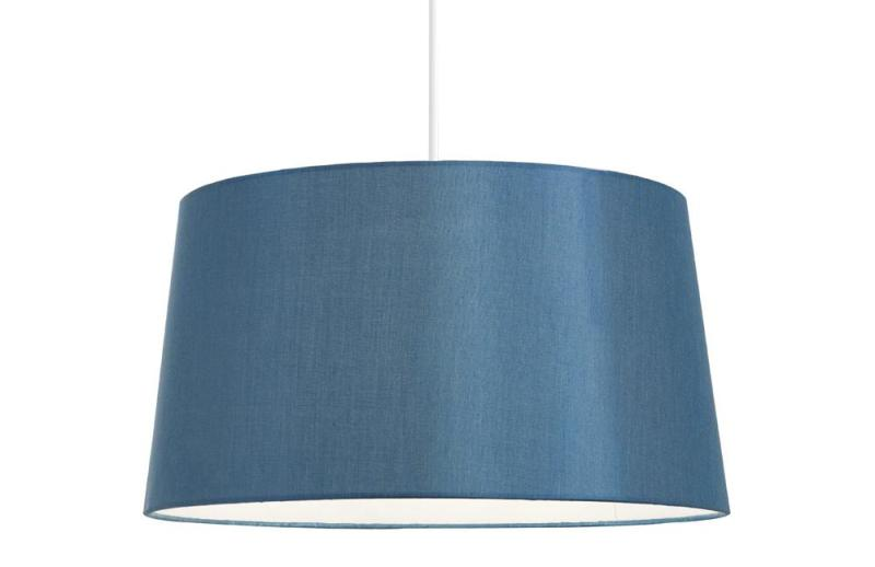Picture of: Empire Lamp Shade Light Blue