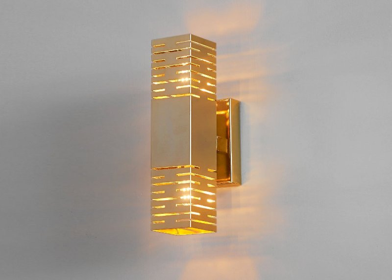 Gold Sconce Lights