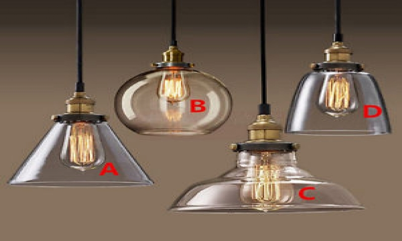 Image of: Hanging Pendant Light Replacement Shades