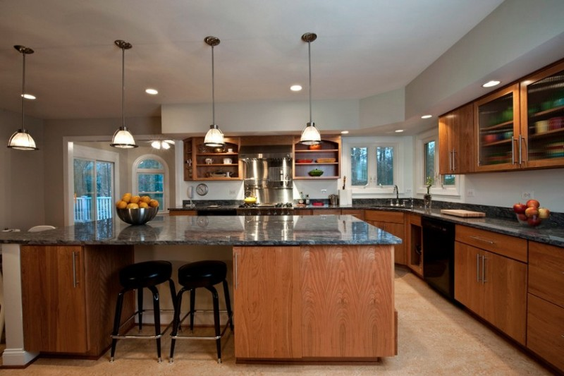 Image of: Kitchen Pendant Light Replacement Shades
