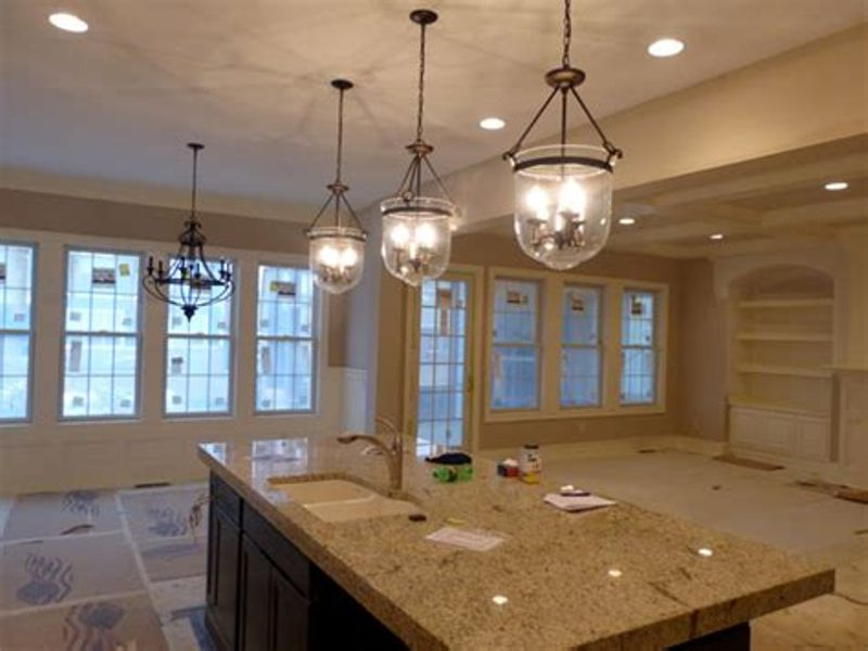 Image of: Kitchen Table Light Fixture