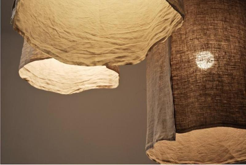 Image of: Large Rustic Lamp Shades