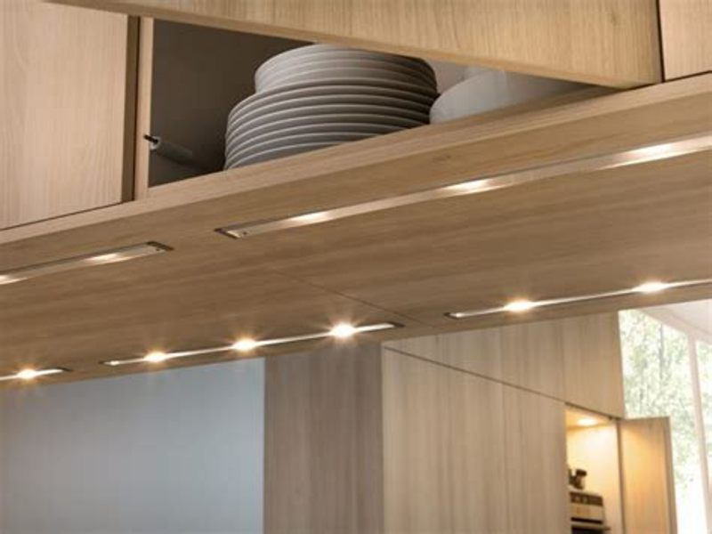 Picture of: Led Under Cabinet Lighting Tape