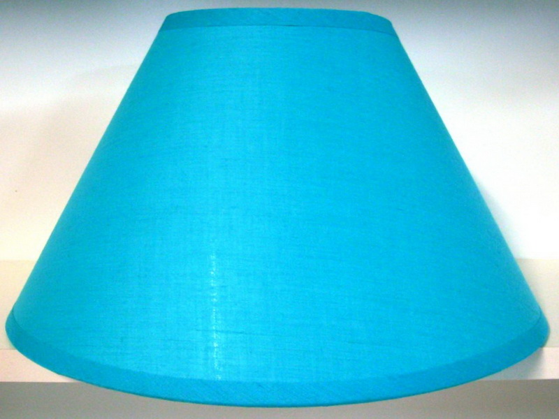 Picture of: Light Denim Blue Lamp Shade Small