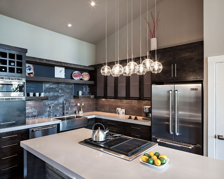 Image of: Light Fixture For Kitchen Island