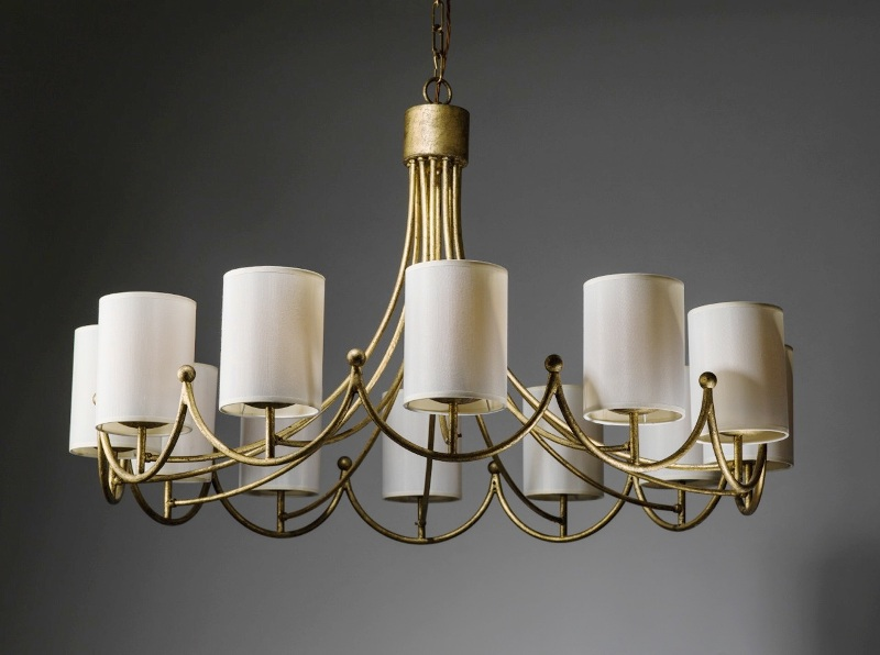 Image of: Light Shades For Chandeliers