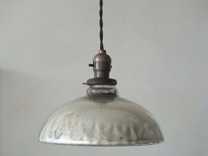 Image of: Metal Pendant Light Replacement Shades