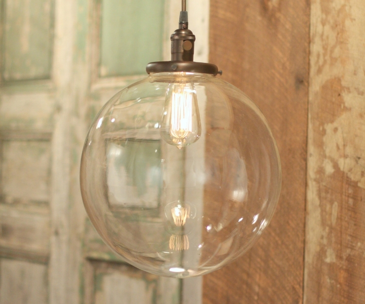 Image of: Mini Pendant Light Shades Glass Replacement Ideas