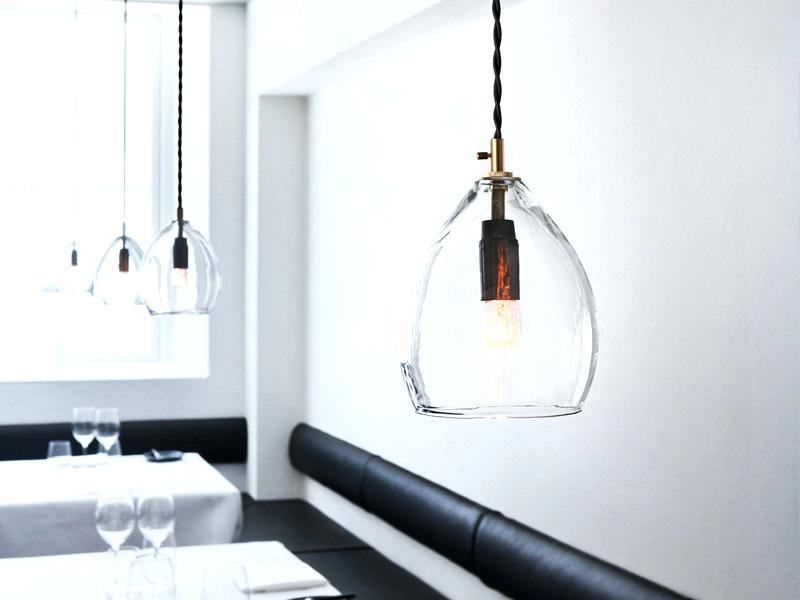 Image of: Mini Pendant Light Shades Glass Replacement