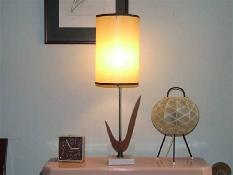 Image of: Modern Drum Lamp Shades