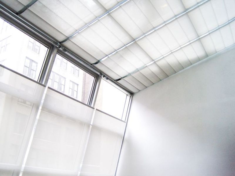 Picture of: Motorized Shades For Skylight Windows