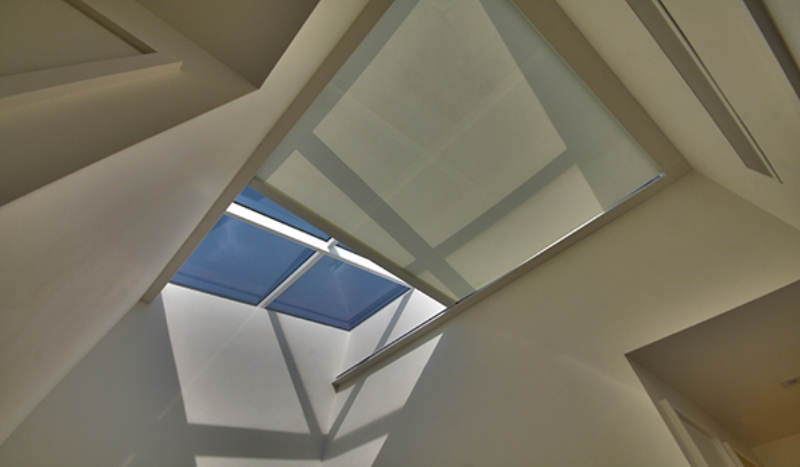 Picture of: Motorized Skylight Shade