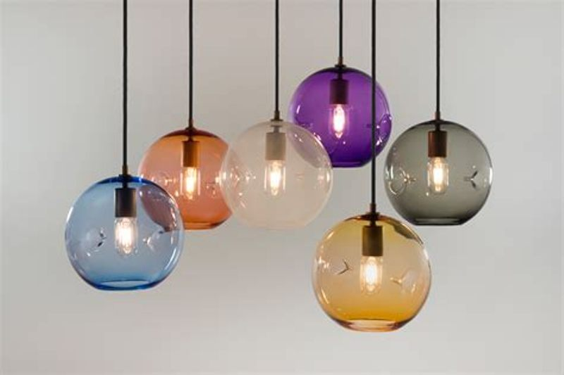 Image of: Pendant Glass Light Shades Replacement