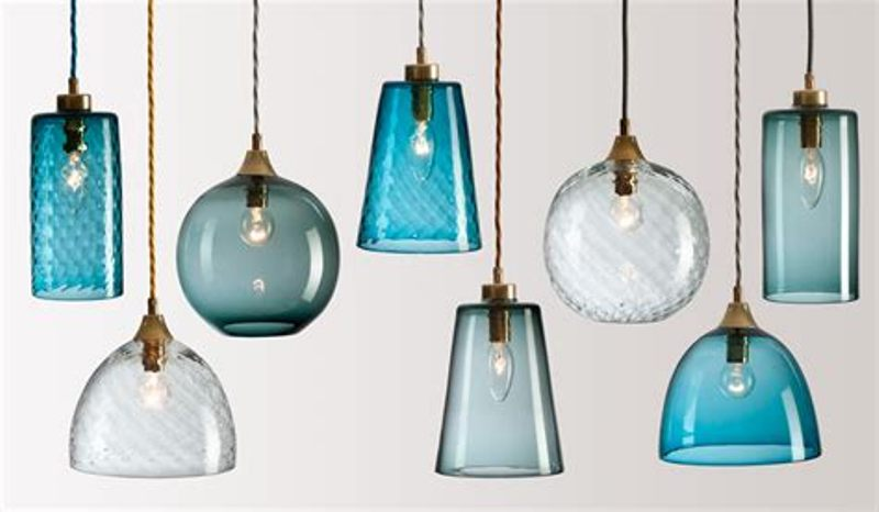 Image of: Pendant Lighting Replacement Shades