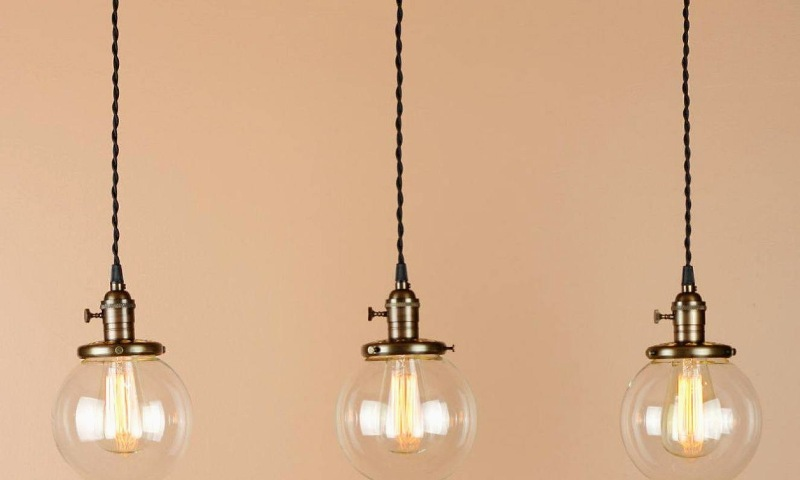 Image of: Pendant Lighting Shades Replacement