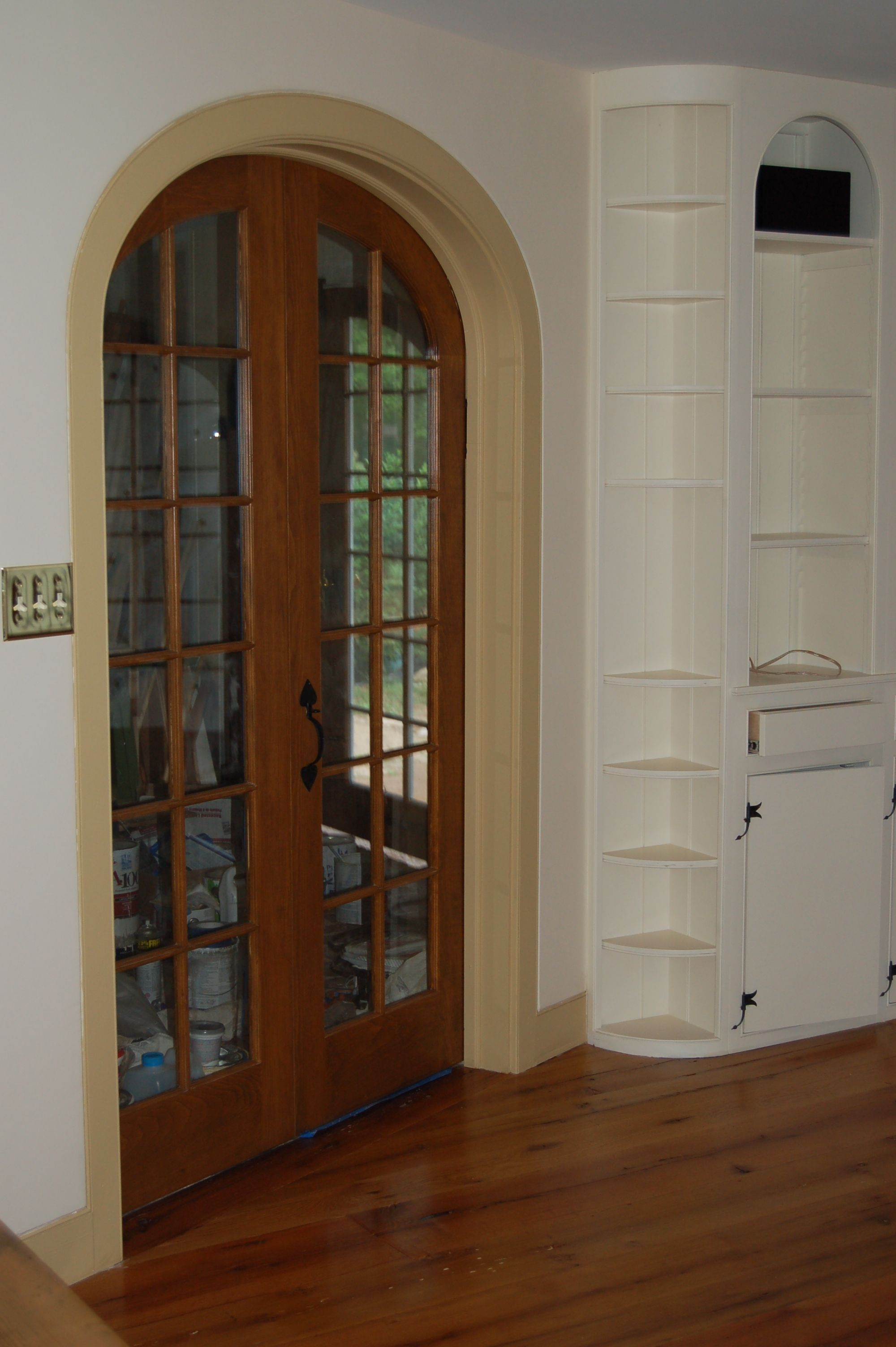 Picture 2 Panel Arch Top Interior Doors