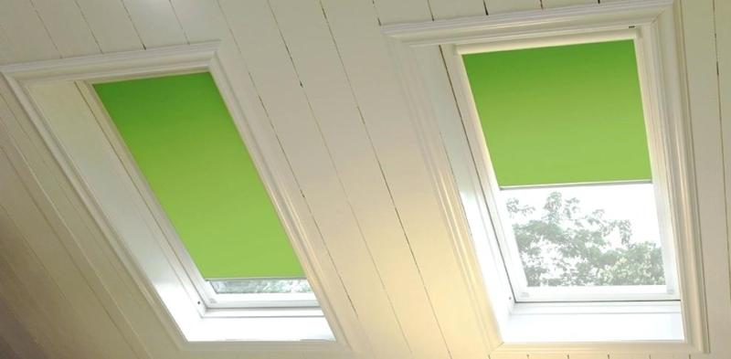 Remote Control Window Shades For Skylights