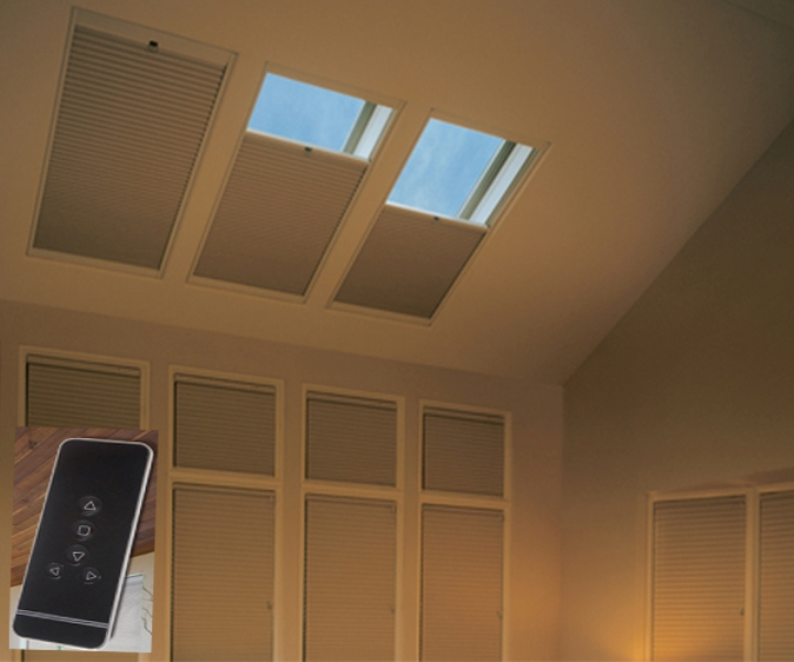 Picture of: Remote Controlled Window Blinds