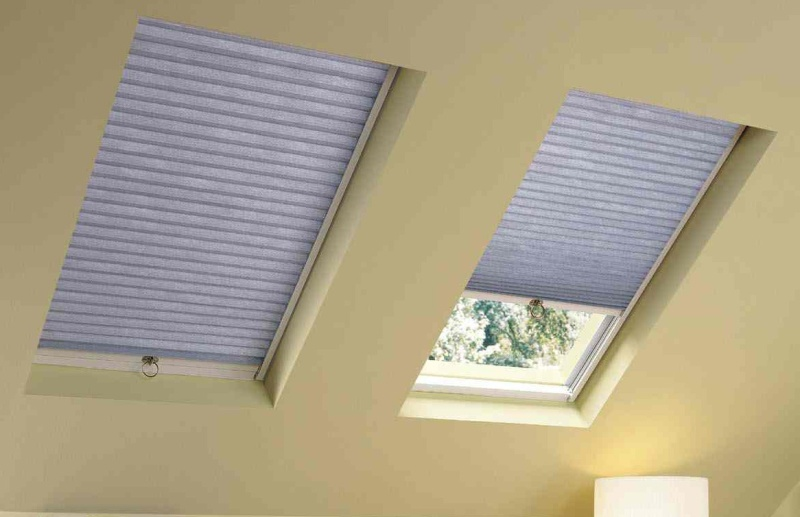 Picture of: Remote Skylight Shade