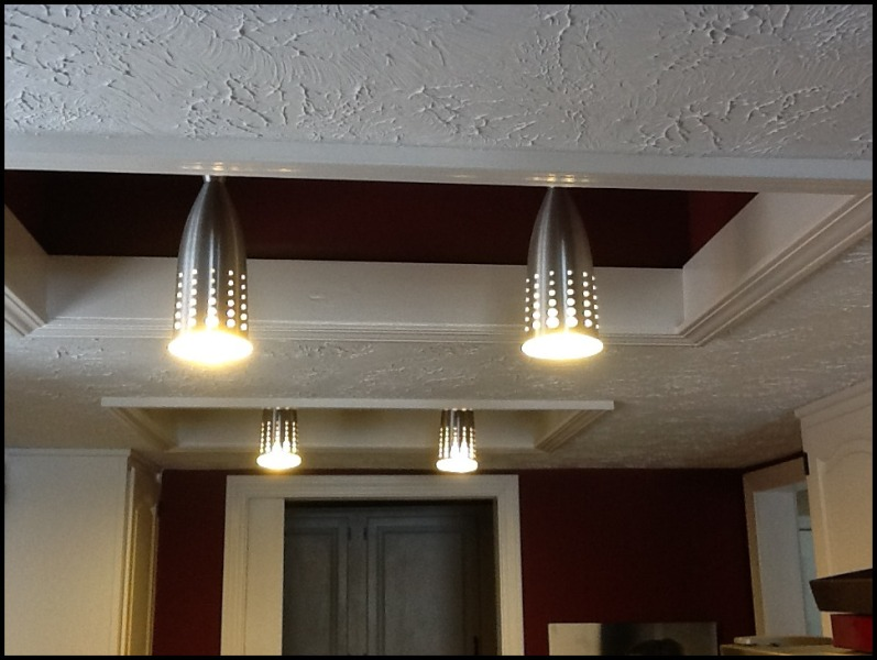 Image of: Replace Kitchen Light Fixture
