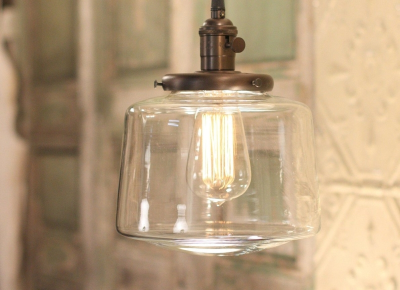 Image of: Replacement Glass Pendant Light Shades