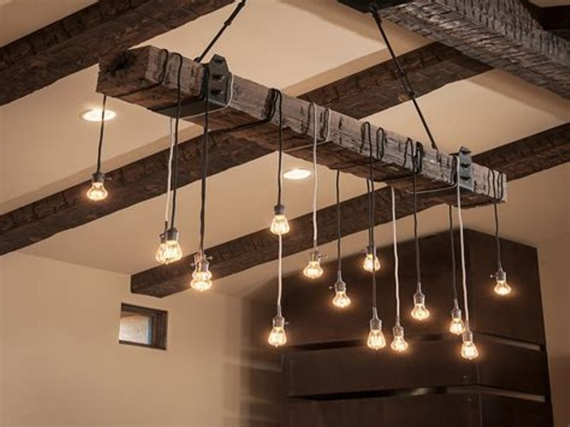Rustic Ceiling Light Fixtures