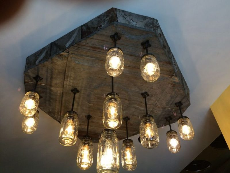 Image of: Rustic Chandelier Lamp Shades
